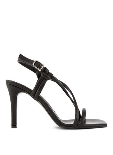 Sole Sisters Topuklu Sandalet Siyah - Erin Siyah